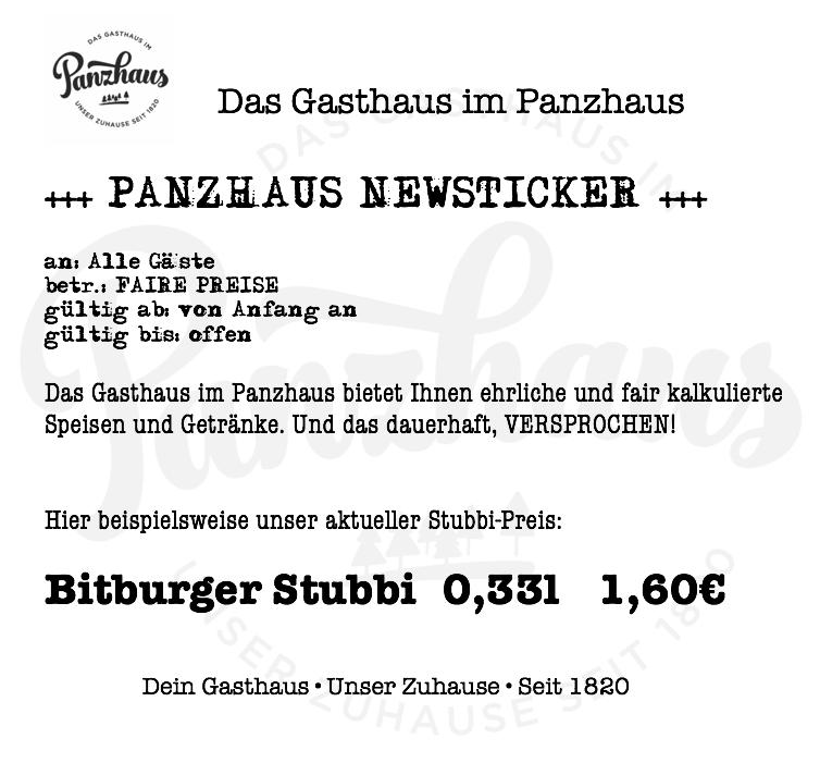 20160604 PANZHAUS NEWSTICKER